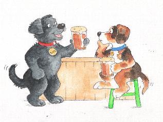 Dog Joke Cartoon
